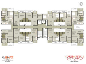 Sukhvastu even floor plan