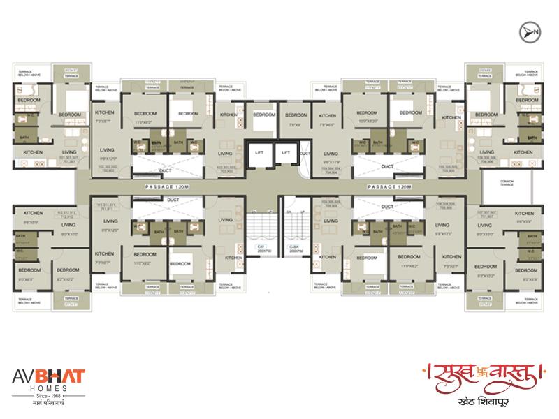 Sukhvastu odd floor plan
