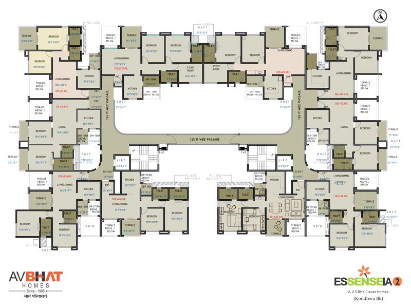 Essenseia Even floor plan