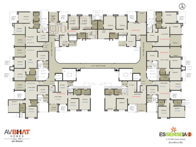 Essenseia Odd floor plan